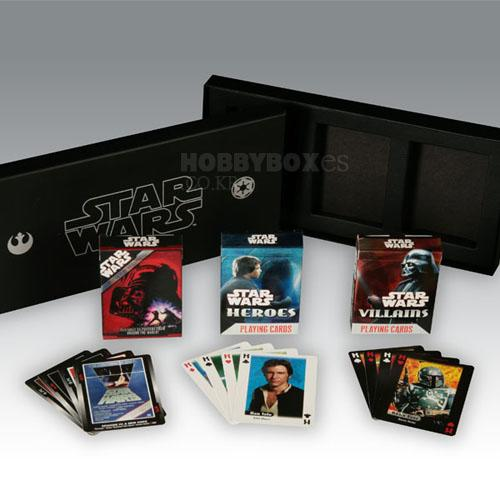 (입고) Star wars 3-Deck Set Playing Card