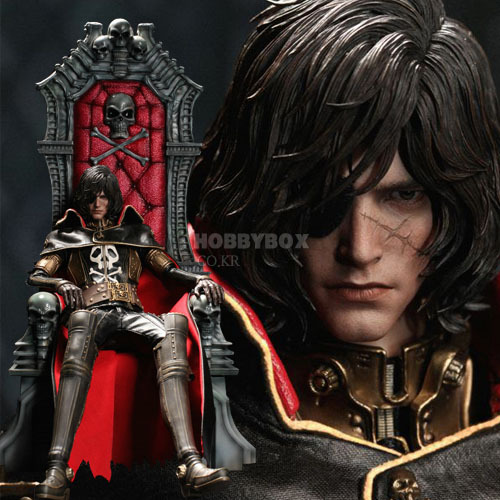 (재입고) 하록선장(Captain Harlock) with 아르카디아 왕좌(Throne of Arcadia) / 하록선장(Space Pirate Captain Harlock)