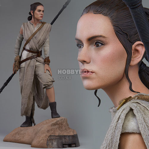 (예약마감) 레이(Rey) Premium Format Figure / 스타워즈 : 깨어난 포스(Star Wars : The Force Awakens)
