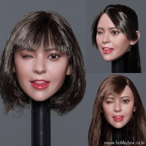 (예약) Cute Expression Beauty headsculpt - 4종 중 선택 / GC036A, B, C, D