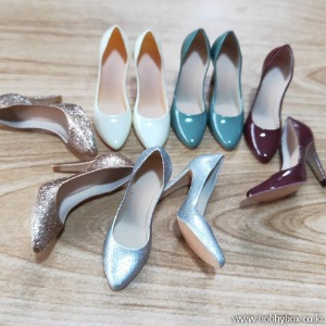 (예약) Exquisite High Heels Candy Color - 5가지 색상 중 선택 / FT018-6A, 6B, 6C, 6D, 6E