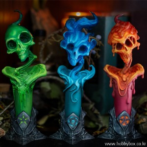 (예약) The Lighter Side of Darkness: Faction Candle Statue Set / 죽음의 법정 / 700188