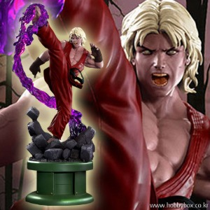 (예약) Ken Masters Violent Ken with Dragon Flame Statue / 스트리트 파이터 / PCS 컬렉터블스 / 9029572