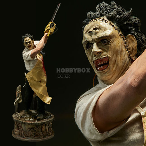 레더 페이스(Leatherface) Premium Format Figure / 텍사스 전기톱 연쇄살인사건(Texas Chainsaw Massacre)