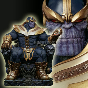 왕좌위의 타노스(Thanos on Throne) Maquette / Marvel
