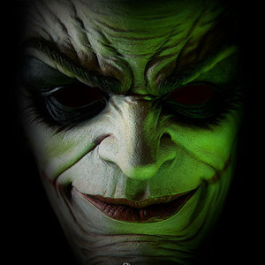 더 조커 얼굴(The Joker Face fo Insanity) Life-Size bust / DC comics