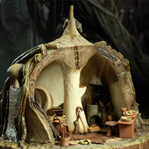 (예약마감) 스타워즈(Star wars) - 요다의 오두막(Yoda's Hut) - Dagobah 12-inch Figure Environment